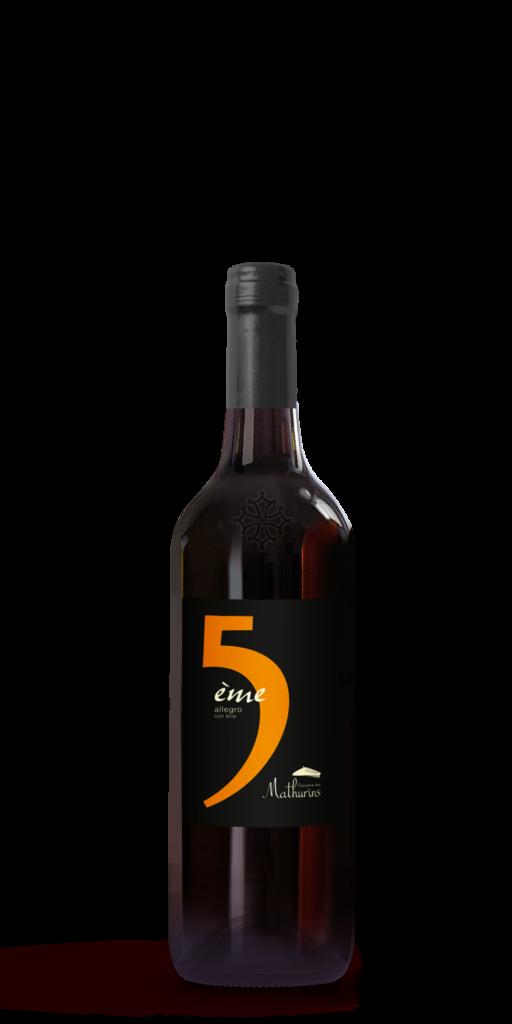 vin rouge 5ieme Saint Chinian