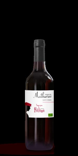 vin rouge tango pour helene